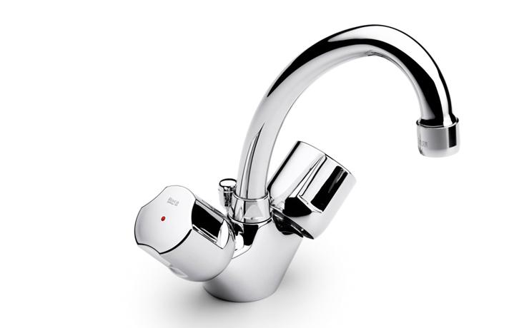 robinetterie lavabo bec mobile