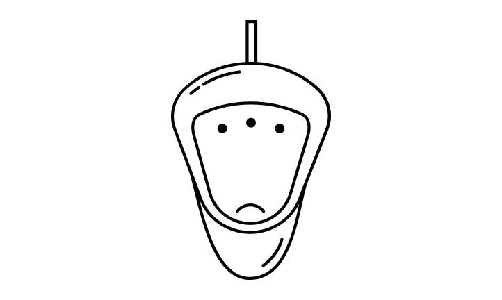 icono menu urinario