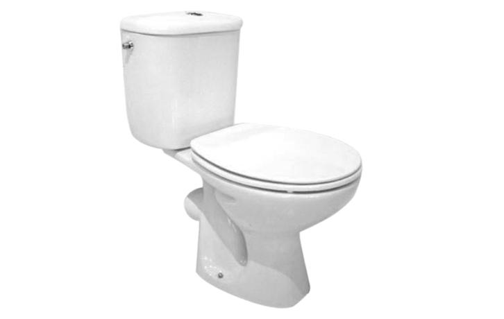 cuvette de wc avec recevoir attenant